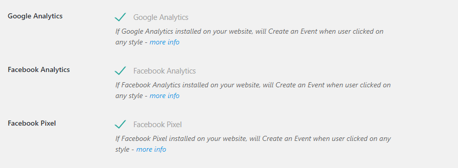 enable analytics